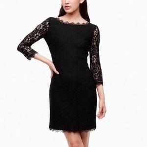 Aritzia T. Babaton Rafael Lace Dress in CREAM/TAN